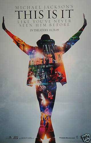"""MJ's """"This is it"""" Movie Poster"""